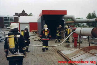 Eingang Flashover-Container
